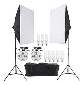 Soft-box Newborn 50x70 Luz Continua C/8 Lampadas 110v Nf