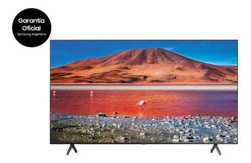 Imagen 1 de 6 de Smart Tv Samsung 43 Un43tu7000 Crystal Uhd 4k Gtia Nueva