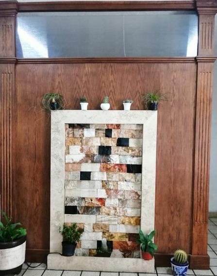 Muro Llorón De Mármol Y Piedra Onix De 3.30x2.45 Doble Vista