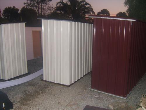 Galpón Prefabricado De Jardín Chapa Color Diseño Fullbox