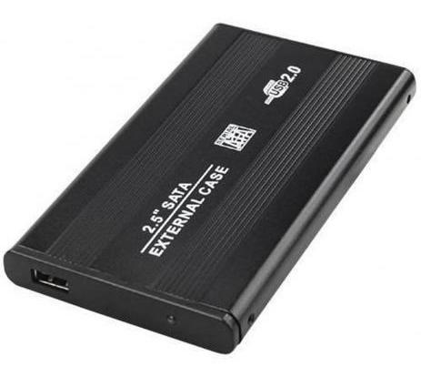 Case Gaveta Hd Externo Sata 2.5 Usb Notebook Ssd Pcusb 2.0