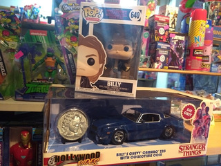 Billy Combo Stranger Things Funko Pop! Y Auto Metal Die Cast