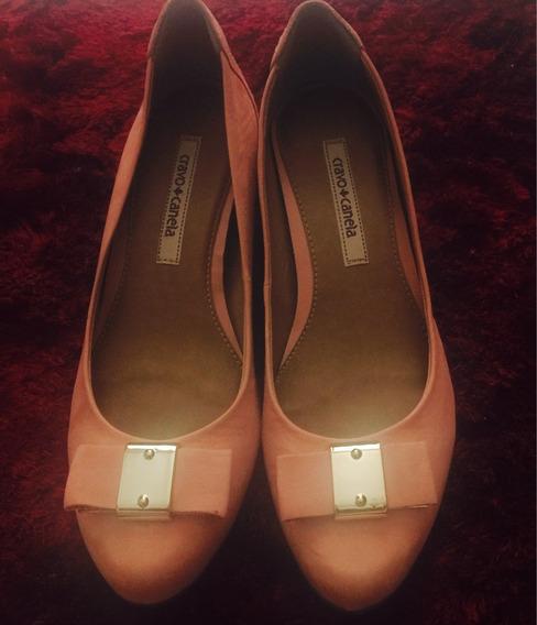 Sapato Cravo E Canela