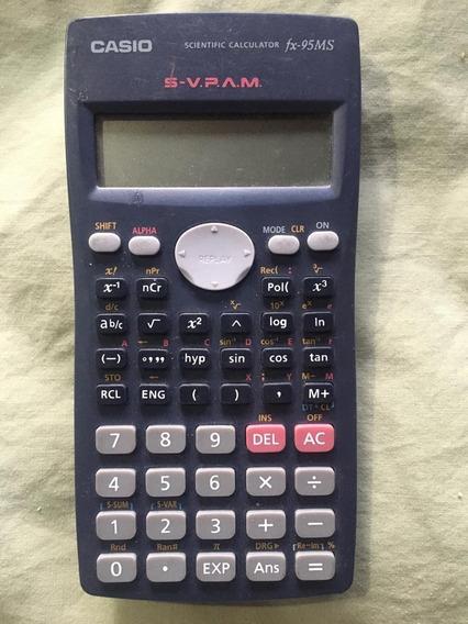 Casio Calculadora Fx-95ms. Usada