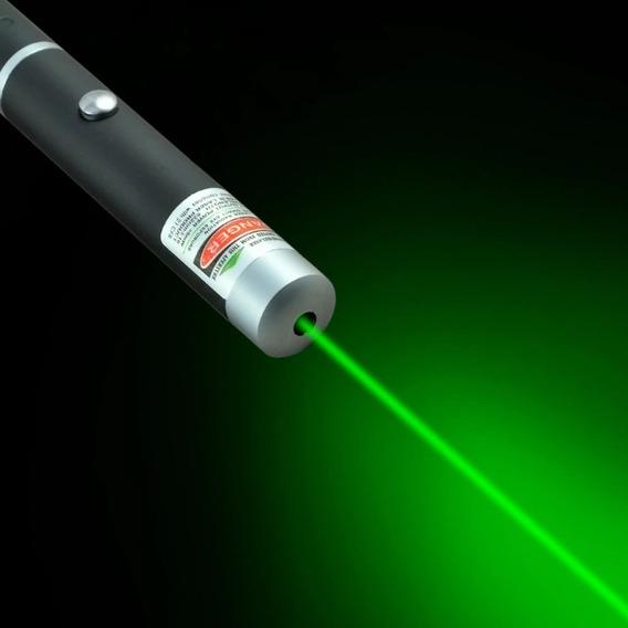 Caneta Laser Pointer 5mw Verde - Potente E Compacta