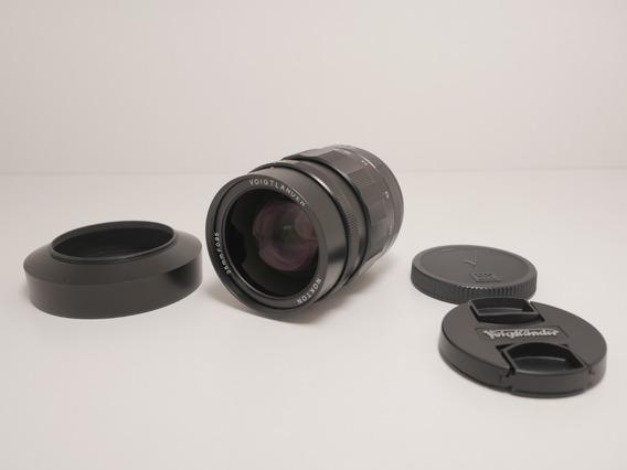 Lente Voigtlander Nokton 25mm F/0.95 - Micro Four Thirds
