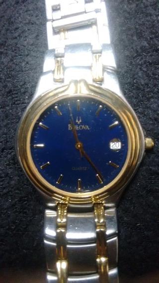 Relógio Bulova Clássico Modelo Re Fora De Série-exclusivo!