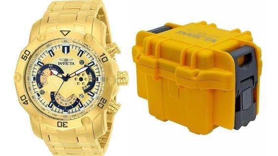 Relógio Invicta Pro Diver 22761 Caixa Invicta Com Flanela