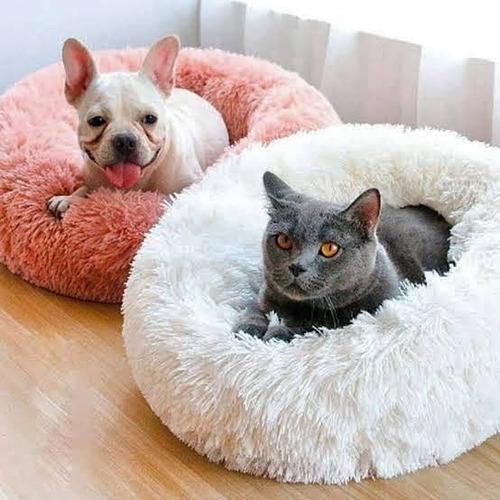 Imagen 1 de 4 de Cama Para Mascotas Con Forma De Donut - Talla L