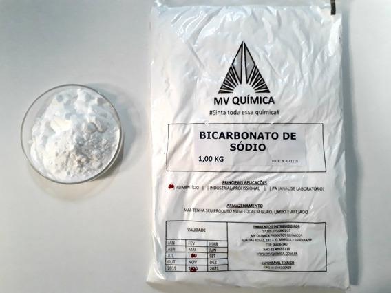 Bicarbonato De Sódio Mv Química 2und X 1kg = 2kg