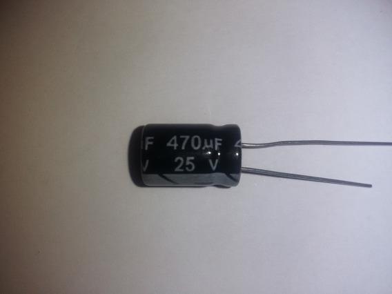 Capacitor Filtro Condensador De 470uf 25v- 3 Piezas