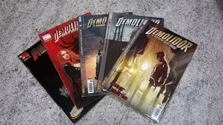 Lote De Revistas Demolidor ( Hq, Gibi, Quadrinho )