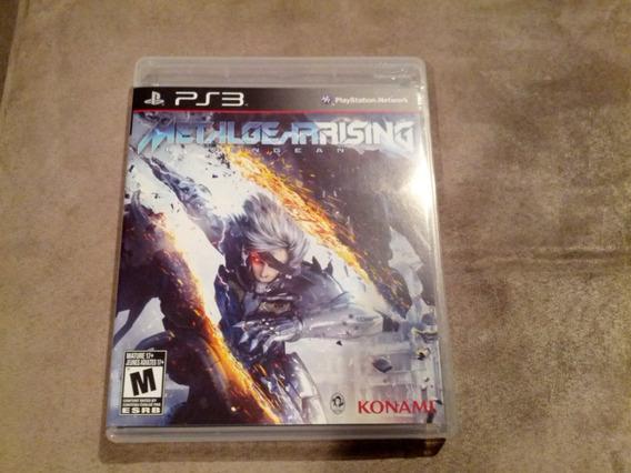 Jogo Playstation 3 Ps3 Metal Gear Rising Revengeance Usado