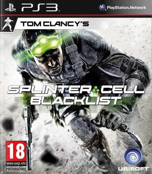 Jogo Tom Clancys Splinter Cell Blacklist Ps3