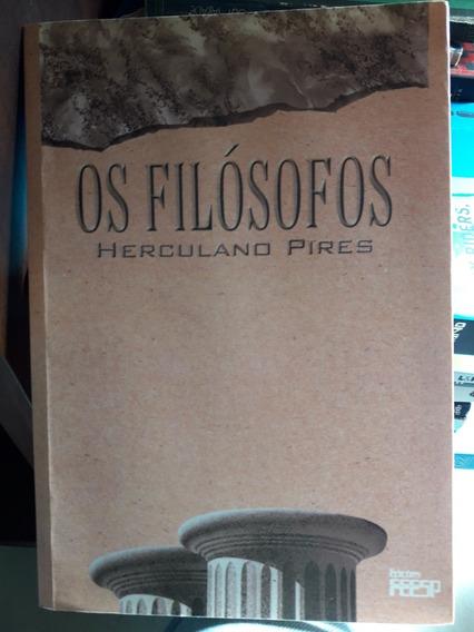 Livro Os Filósofos - Herculano Pires