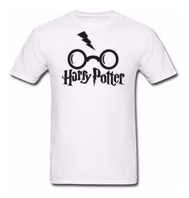 Camisetas- Blusa Harry Potter Óculos 100% Algodão