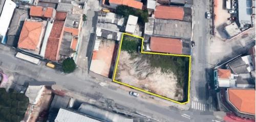 Imagem 1 de 6 de Terreno, 863 M² - Venda Por R$ 2.600.000,00 Ou Aluguel Por R$ 10.000,00/mês - Vila Taquari - São Paulo/sp - Te0369