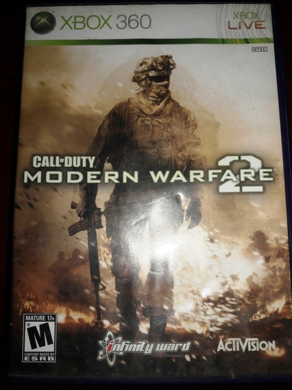 Call Of Duty Modern Warfare 2 Xbox 360 Original Mídia Física