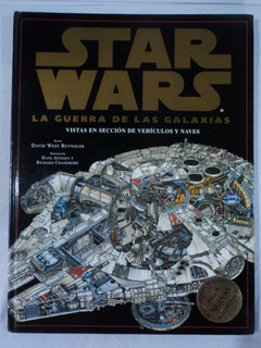 Star Wars Libro Vistas En Sección De Vehículos Y Naves 1998