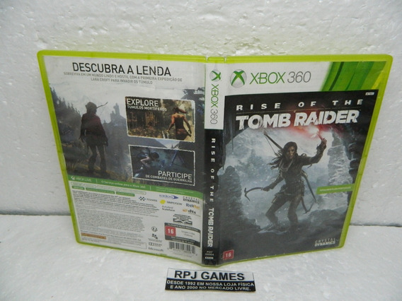 Rise Of The Tomb Raider Original Midia Fisica Caixa Xbox 360