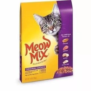 Meow Mix Original Alimento Gatos X16 Lb Entrego Ya!