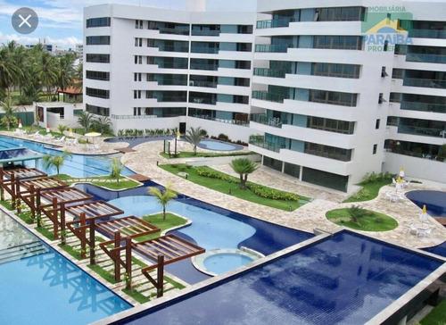 Apartamento Mobiliado Para Locação Beiramar- Praia De Ponta De Campina - Cabedelo - Pb - Ap0874