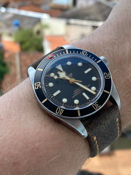 Tudor Black Bay Fifty Eight Bb58 39mm Completo Couro