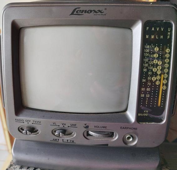 Mini Tv Lenoxx Portátil, 5 Polegadas Mod: Tv-605.