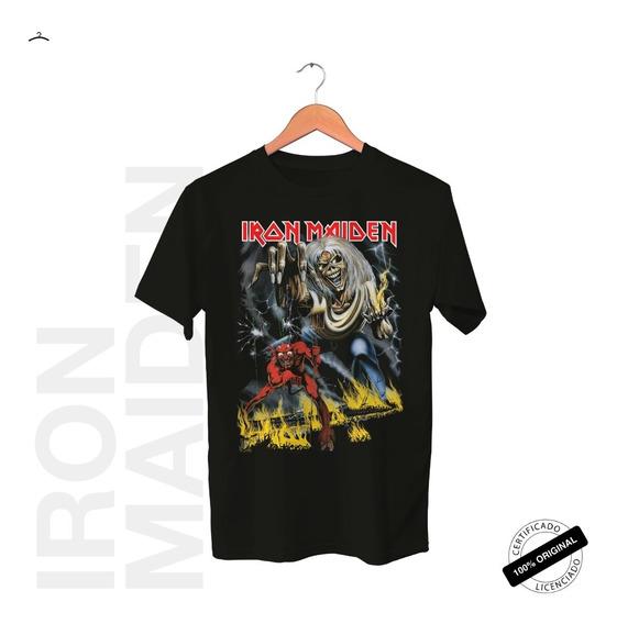 Camiseta Oficial Iron Maiden Purgatory Tour 2019
