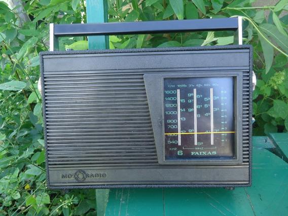 Radio Antigo De 6 Faixas Funcionando Perfeitamete