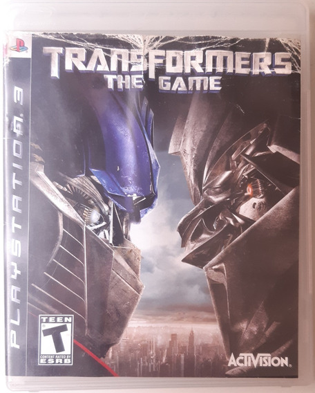 Transformers: The Game Ps3 Midia Fisica