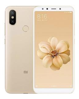Celular Xiaomi Mi A2 32gb+3gb Dourado Novo