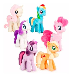 Peluche My Little Pony Mi Pequeño Pony 30cm Hasbro Wabro