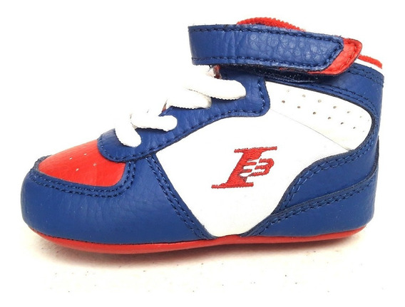 Original Reebok Botas Bebe Cuna I3 Iverson Pressure Basketball Azul Tenisshop