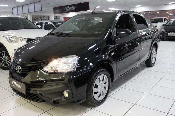 Toyota Etios Sedan Xs!!! 1.5 Aut!!! Flex!!! P/ Aplicativo!!!