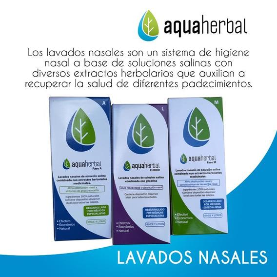 Lavados Nasales Aquaherbal