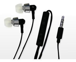 Auriculares De Metal Inteligentes Color Negro