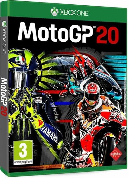 Mídia Física Motogp 20 Xbox One - Novo E Lacrado De Fábrica