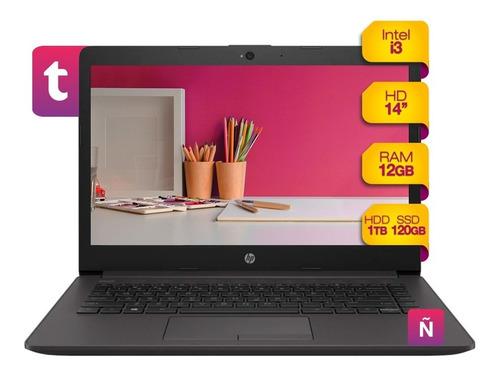 Imagen 1 de 8 de Notebook Hp Intel I3 12gb Ram Solido 120gb + 1tb Hdd Win10