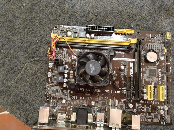Kit Placa Mãe Asus Am1m/a/br + Processador Sempron 2650