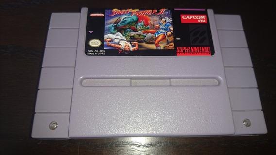 Street Fighter Ii Original Pra Super Nintendo/famicom/snes