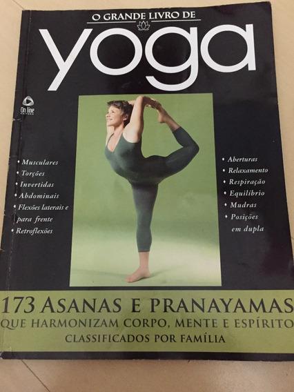 Revista Yoga 1 Asanas Pranayamas Corpo Mente Espírito Z415