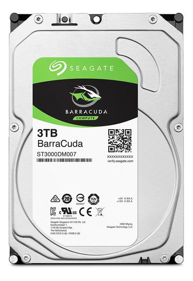 Hd Seagate Barracuda 3.5 Sata 3tb