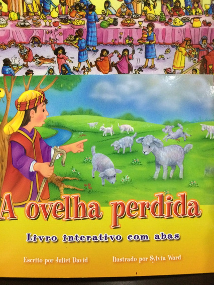 Livro A Ovelha Perdida Interativo Com Abas