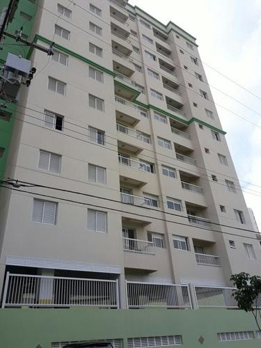 Imagem 1 de 10 de Apartamento 50m² 2 Dormitórios 1vg Campestre Santo André