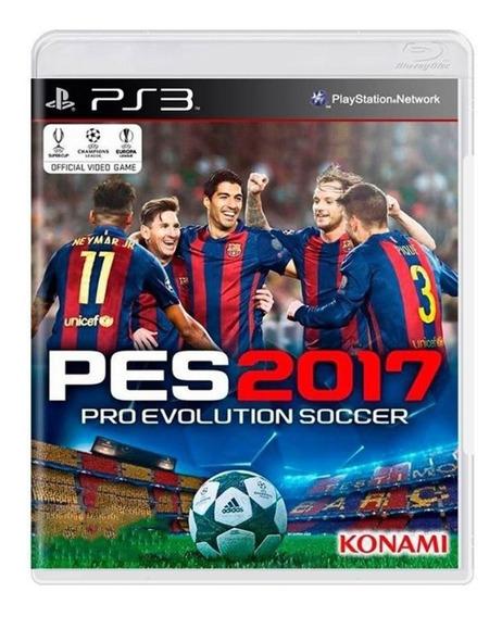 Pro Evolution Soccer 2017 - Pes 17 - Ps3 - Original - Usado