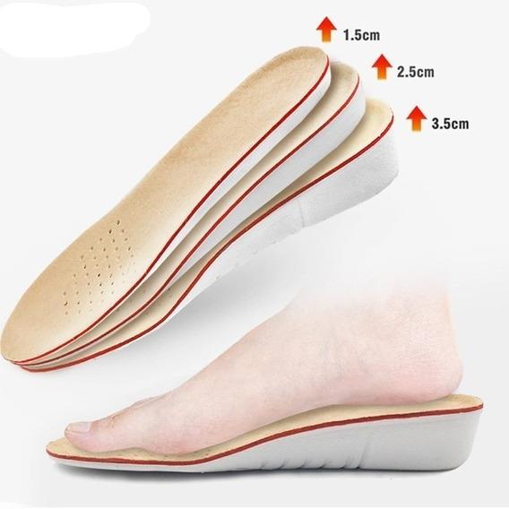 Plantillas Zapatos Altura Realce Acortamiento Dismetria