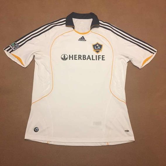 Camisa Los Angeles Galaxy 2008/09 Beckham - adidas