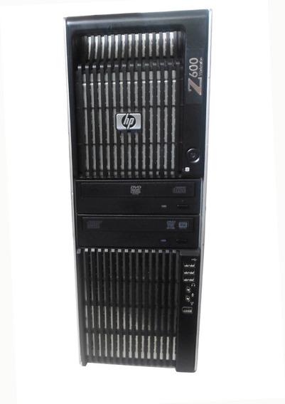 Workstation Hp Z600 Quad Core Vga Quadro 8gb 120ssd + 1tb