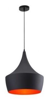 Imagen 1 de 9 de Lampara De Techo Modelo Copper - Negro Këssa Muebles